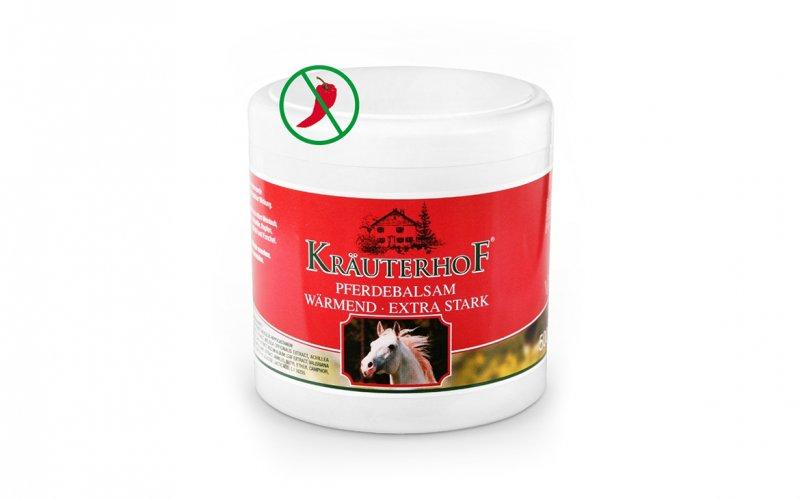 Maść końska silnie rozgrzewająca 250 ml, 500 ml